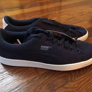 Men's PUMA Basket Sneaker/Shoes Size 11.5